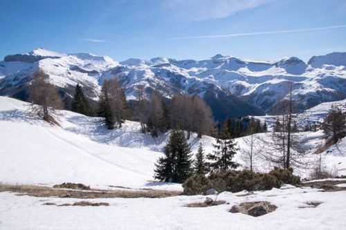 Snowshoeing France